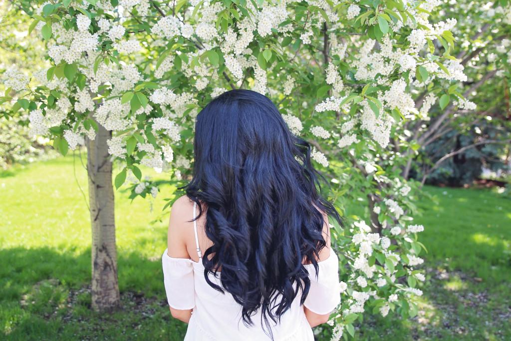 undone curls