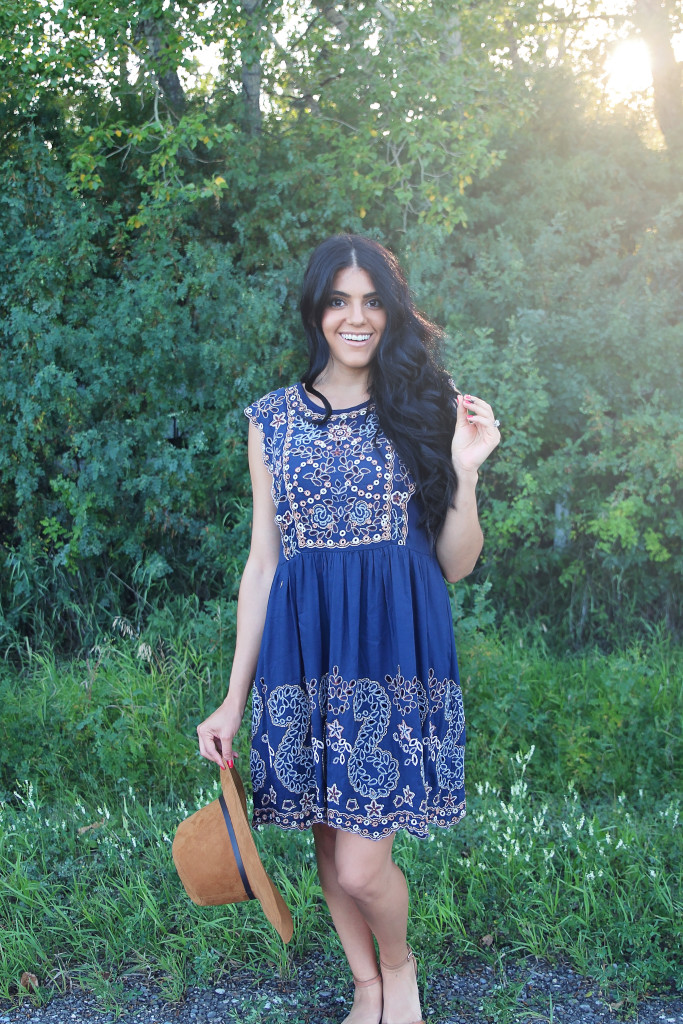 shift dress from anthropologie
