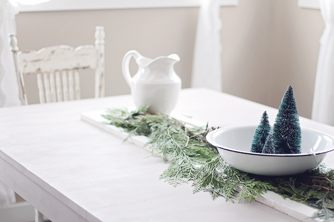 french farmhouse christmas style