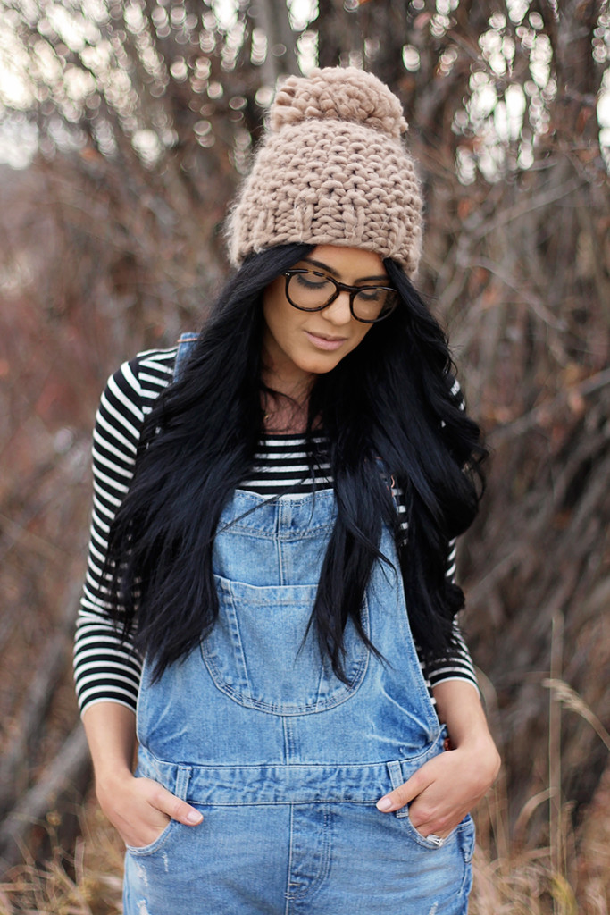 knit pom pom hat from urban outfitters