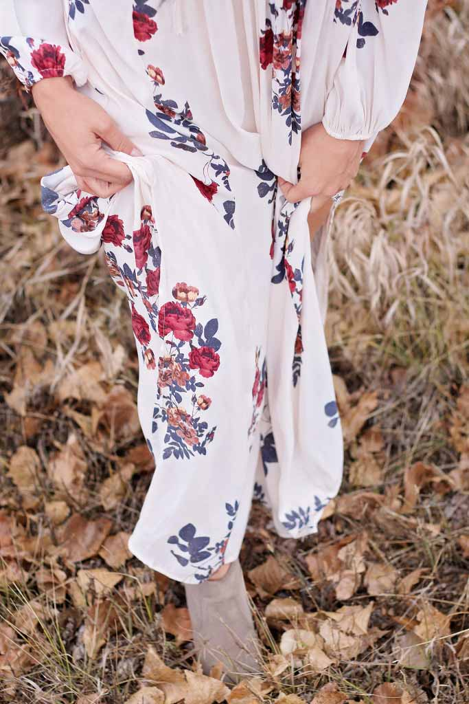 maxi dress from free people