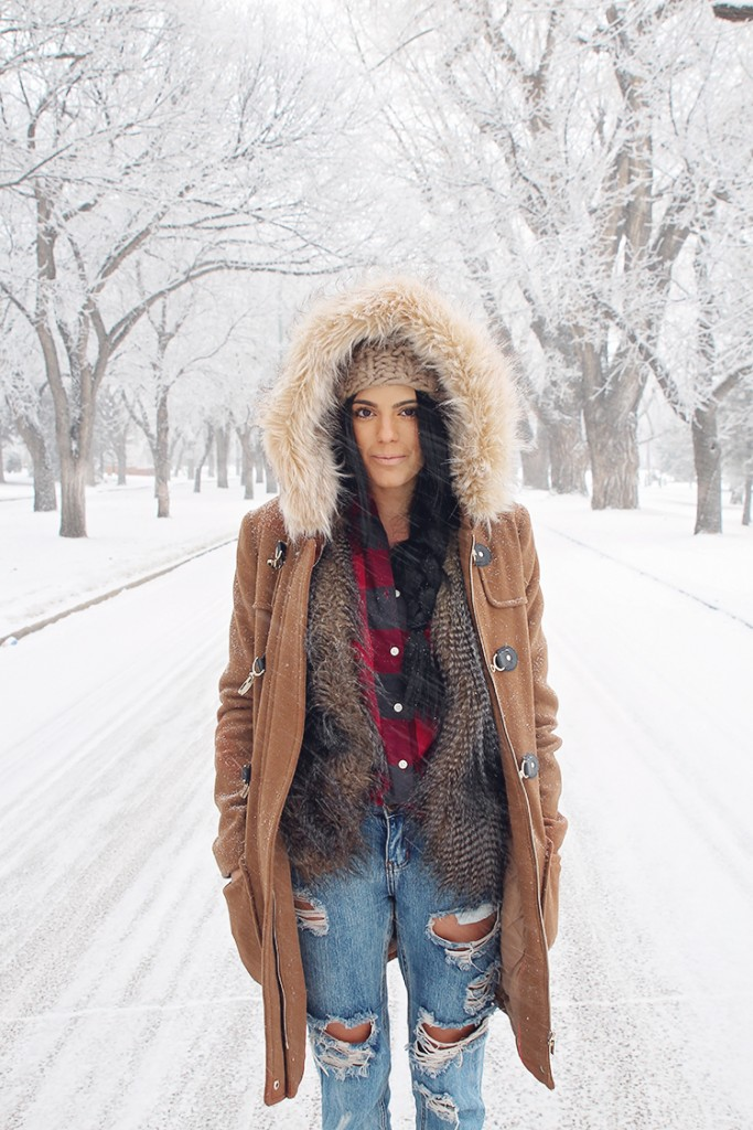 cozy winter style