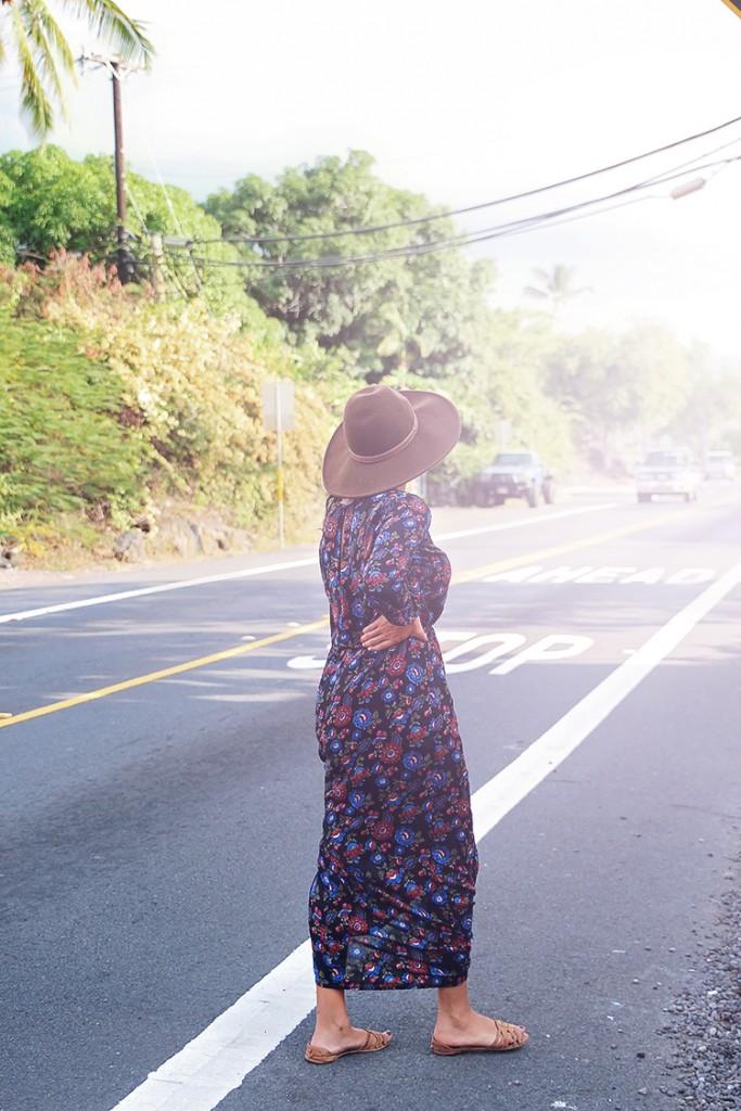 boho maxi dress from forever