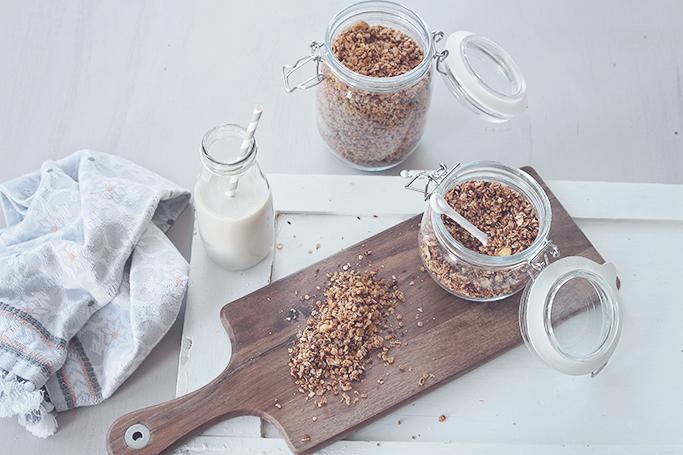 vehan healthy granola