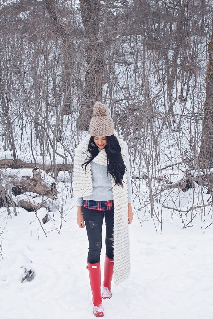 winter outfit style copy