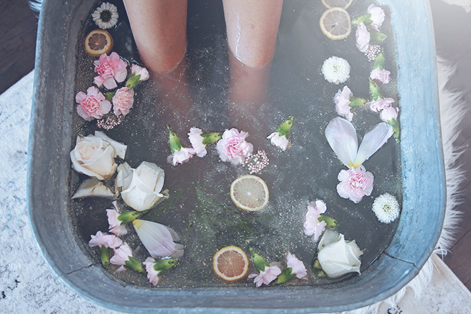 foot bath at home