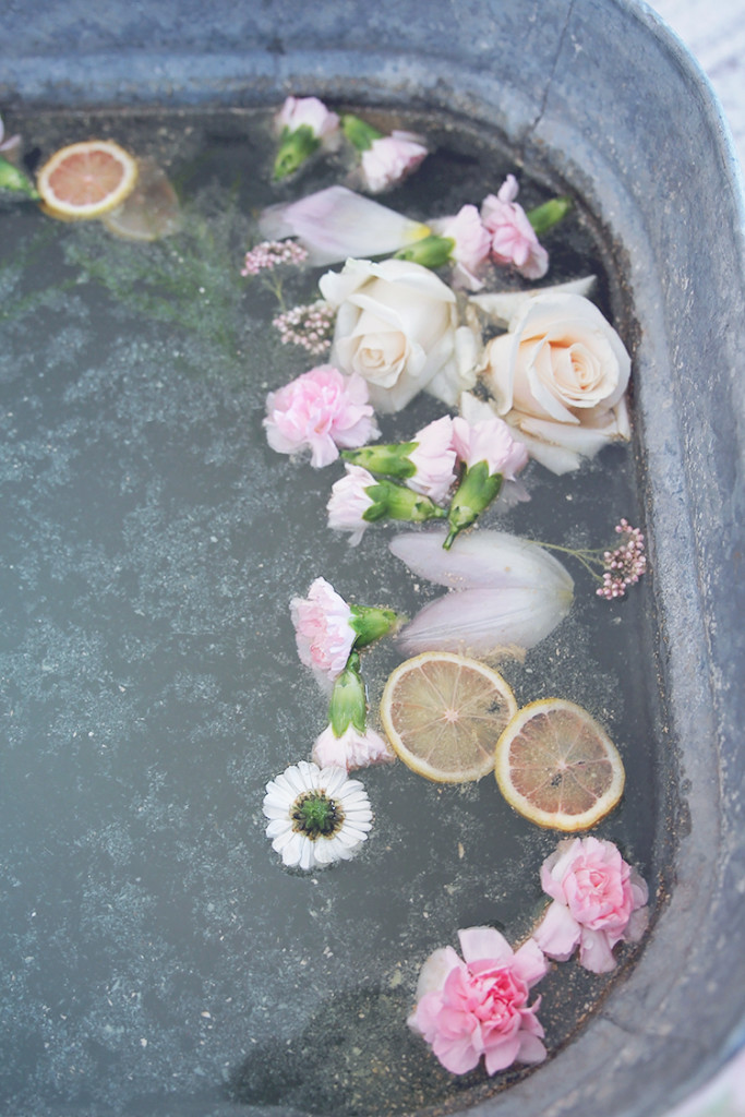 ginger foot bath