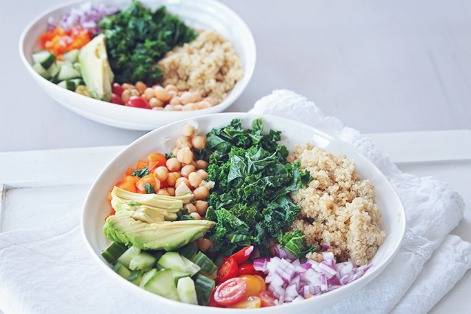 vegan power bowl recipe