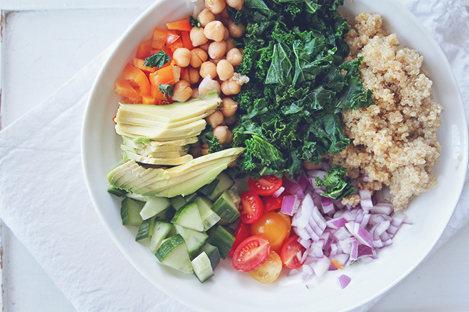 vegan power bowl