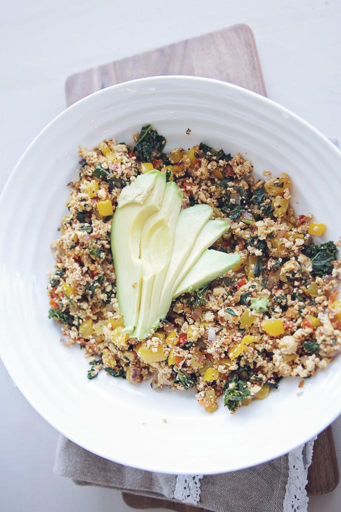 vegan tofu scramble recipes