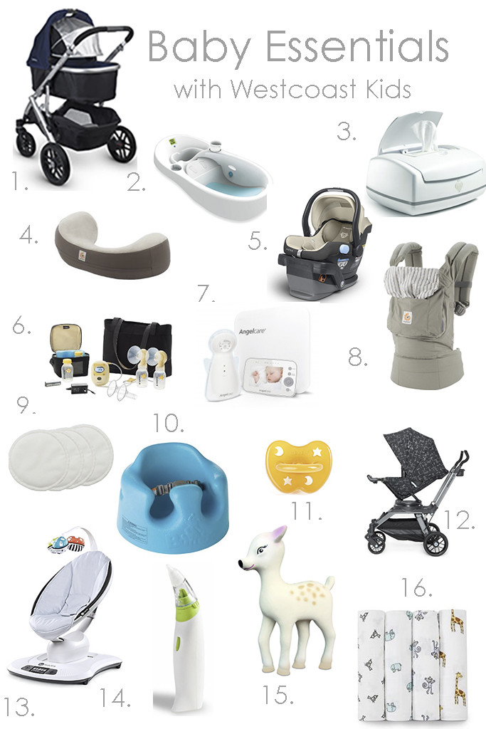 Baby Essentials for first time mom