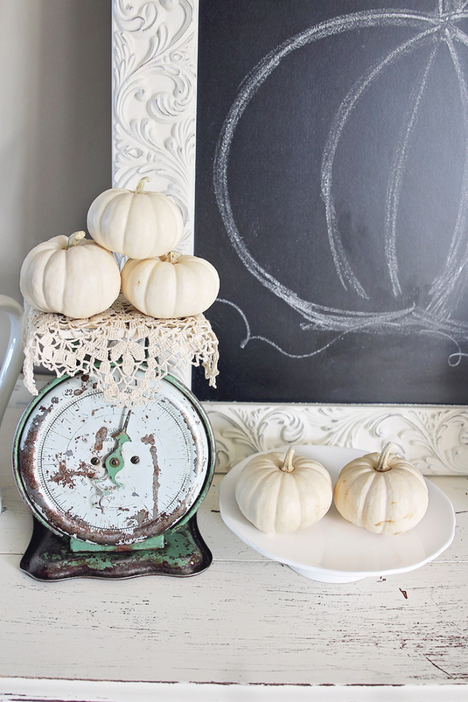 fall vintage decor