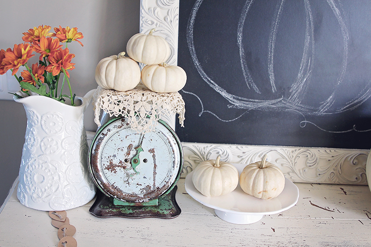 fall vintage home decor