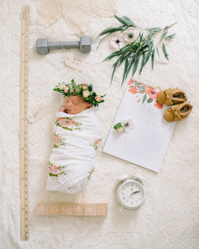 <center>THE DAY I BECAME A MOMMY: HARLOW LACE'S BIRTH STORY + NEWBORN PHOTOS</center>