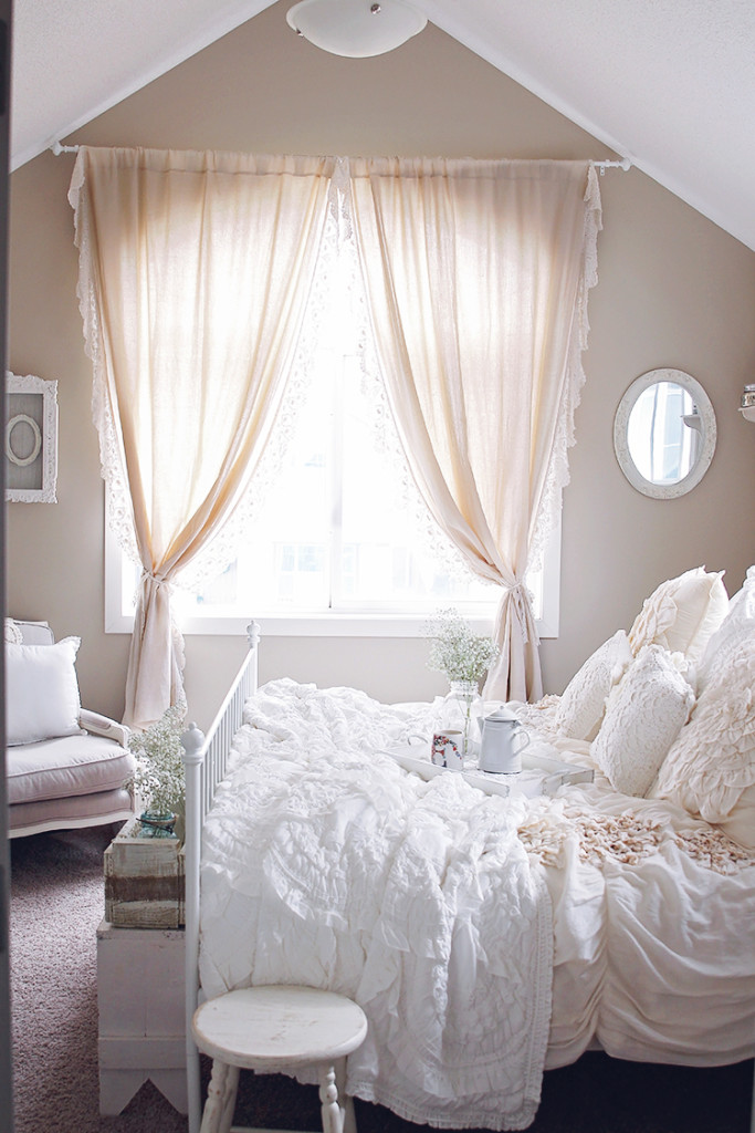 anthropologie lace trim curtains