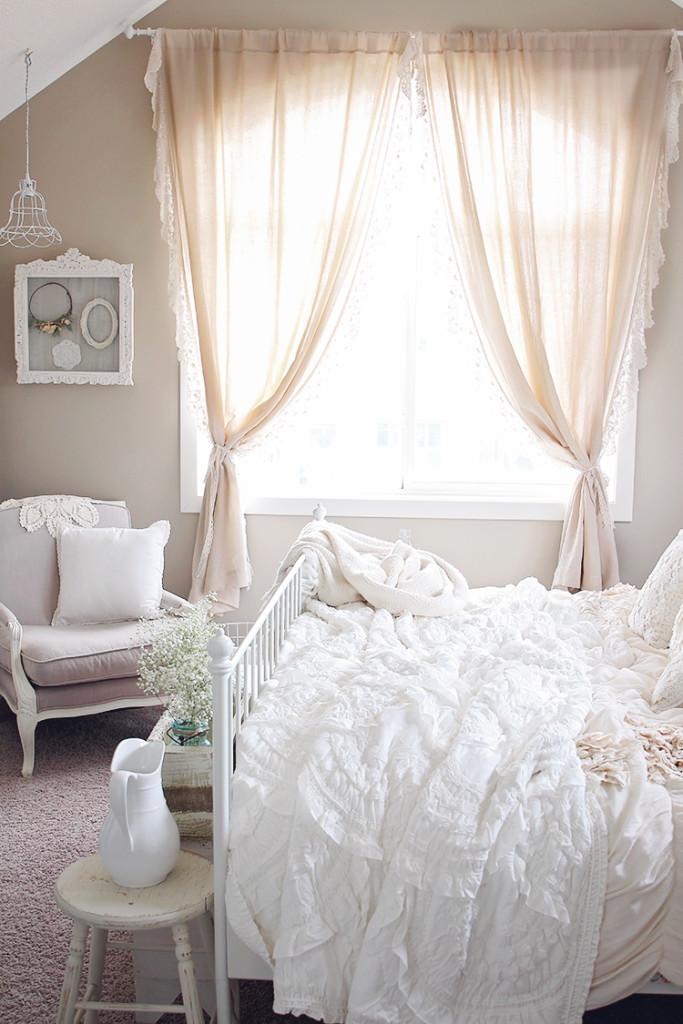 farmhouse style master room