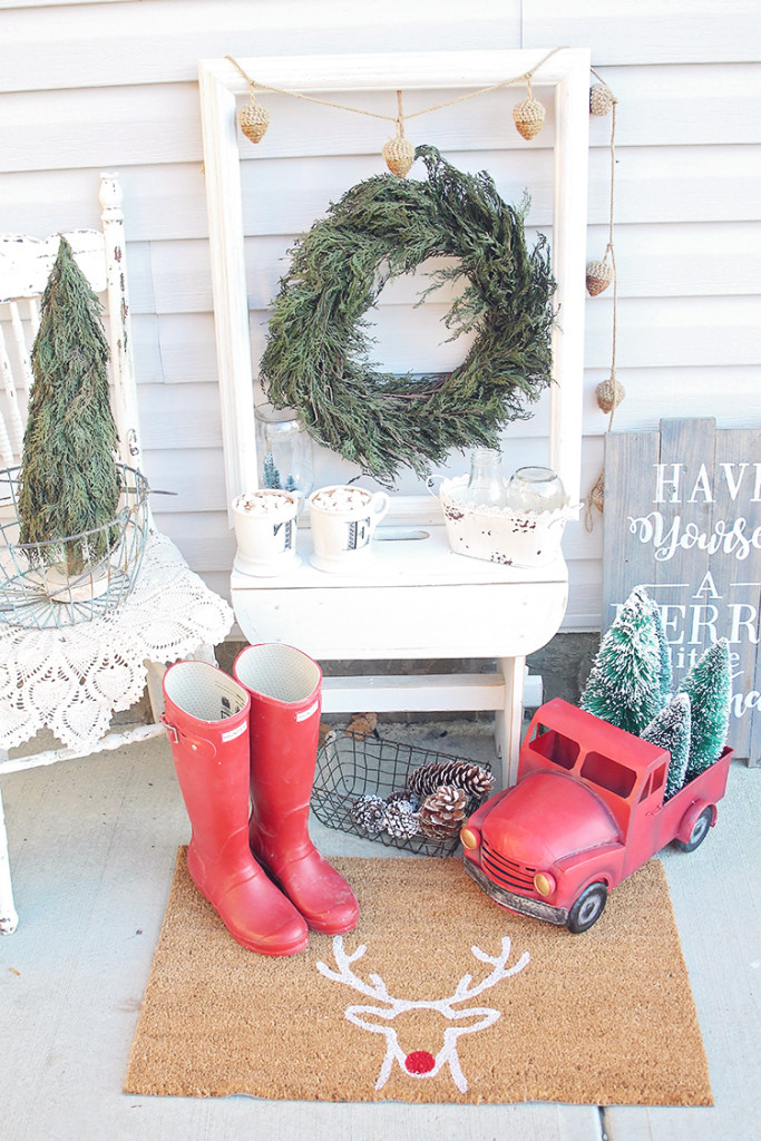 farmhouse christmas style