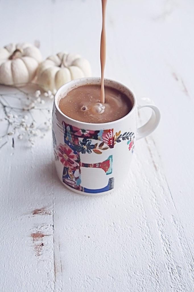 <center>PUMPKIN SPICE COFFEE CREAMER</center>