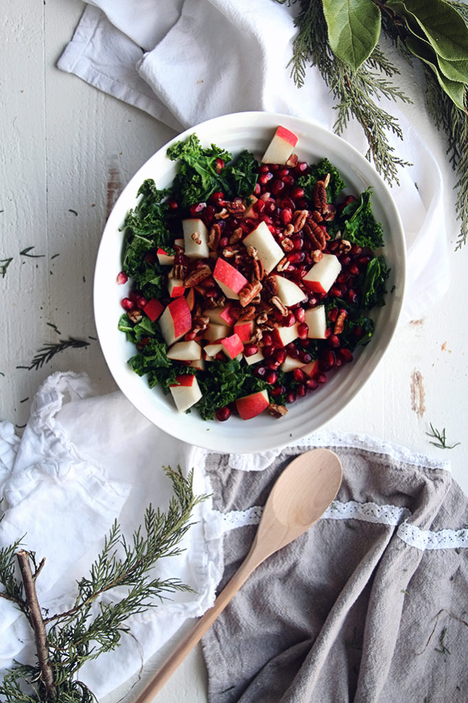 <center>MAPLE KALE NUT SALAD</center>