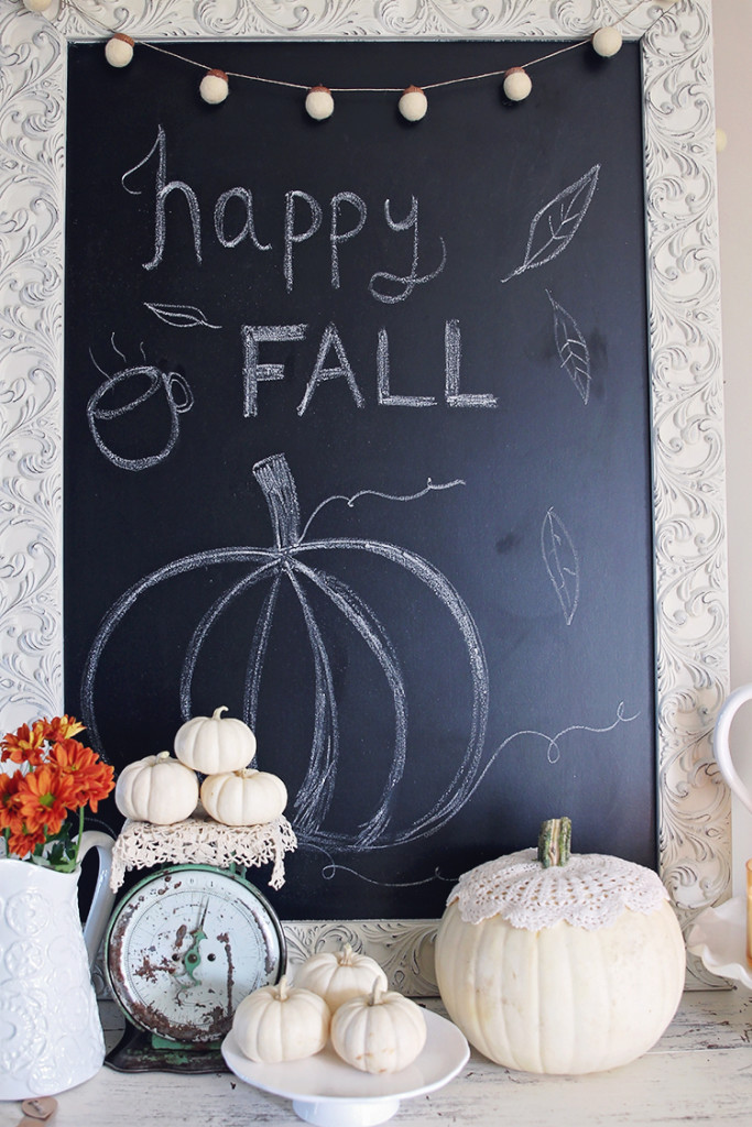 fall chalkboard ideas