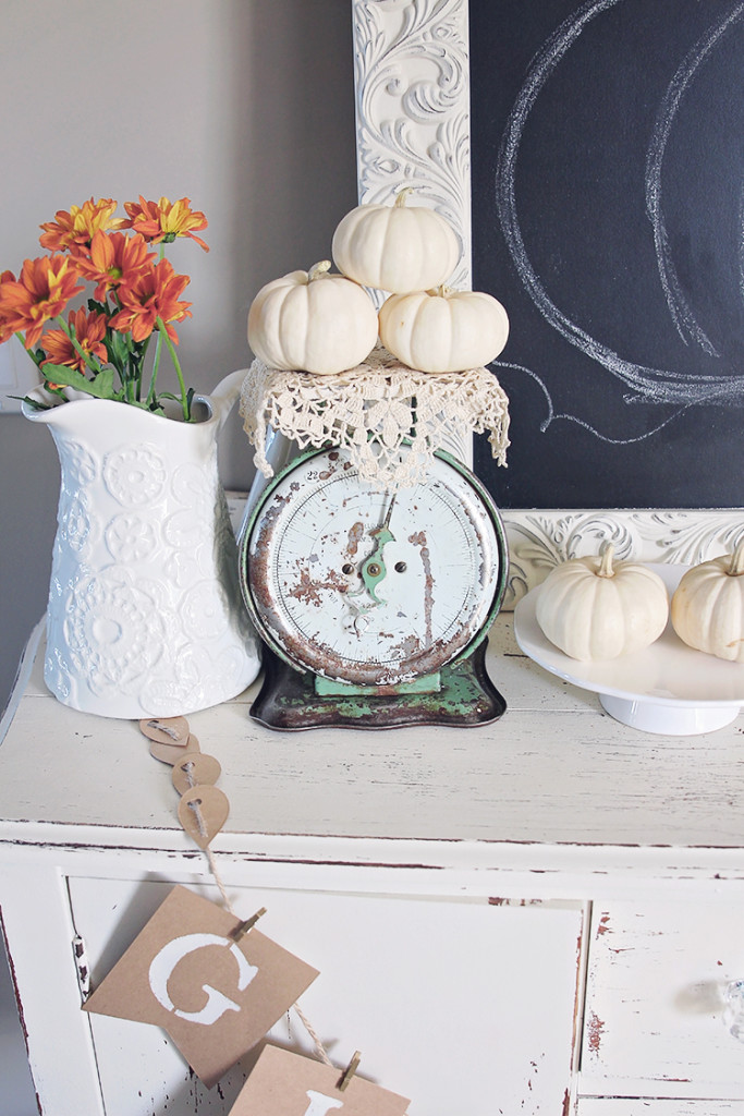vintage home fall decor